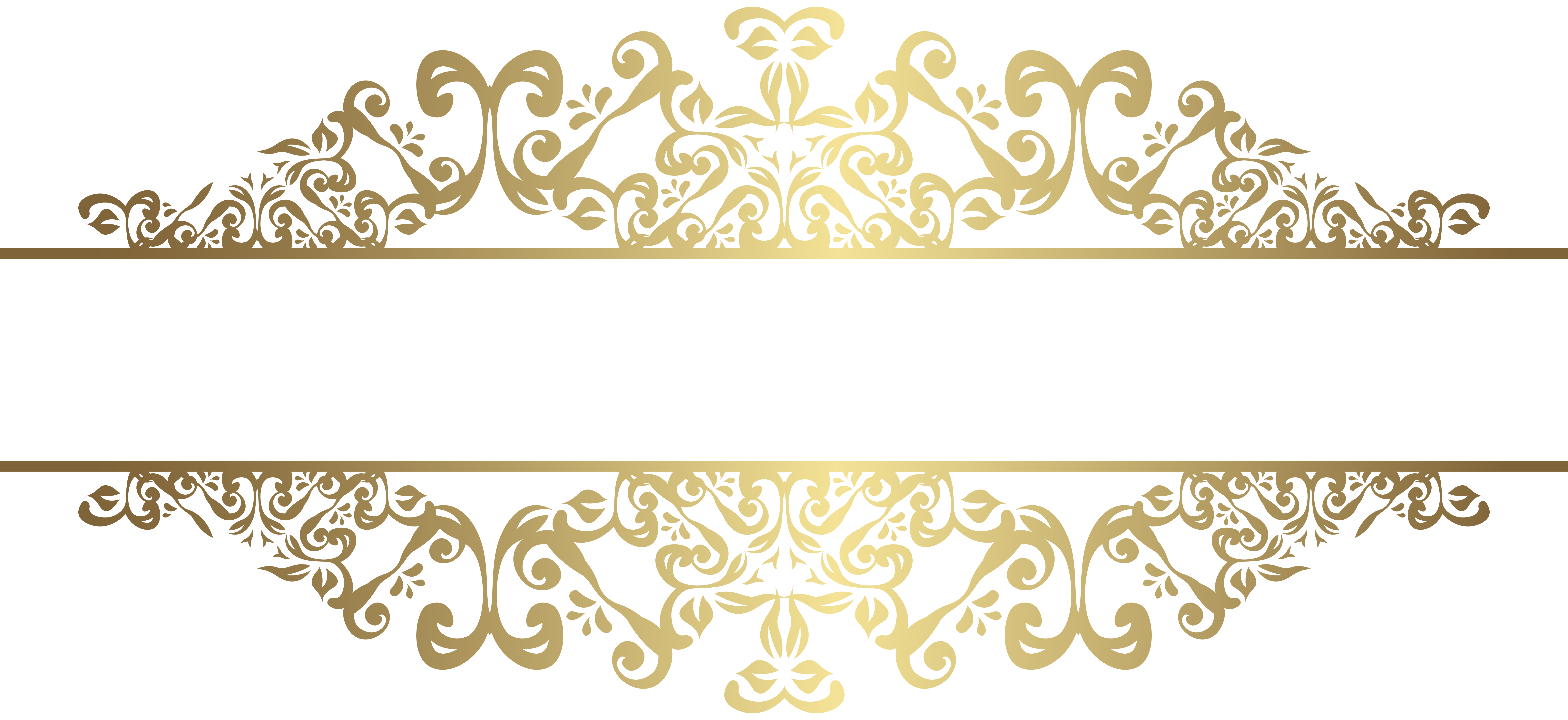 Clipart decorative elements svg library stock Gold Decorative Element PNG Clip Art | Gallery Yopriceville - High ... svg library stock