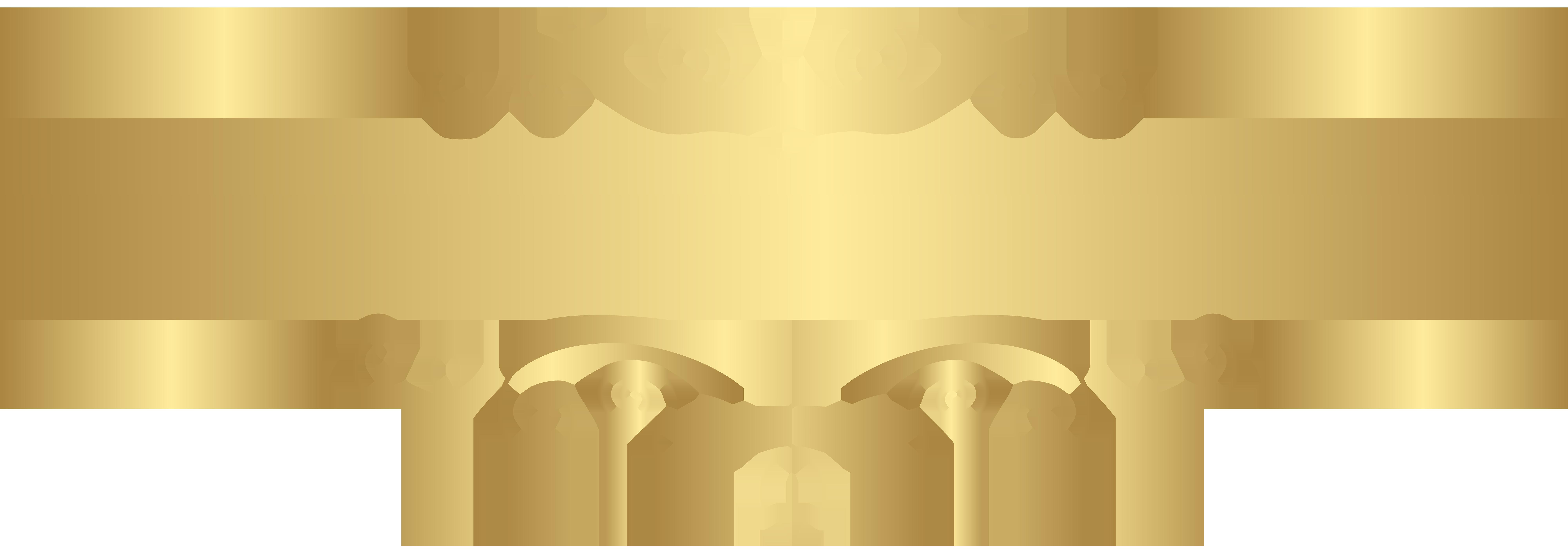 Clipart decorative elements svg black and white stock Gold Decorative Element Transparent Clip Art | Gallery Yopriceville ... svg black and white stock