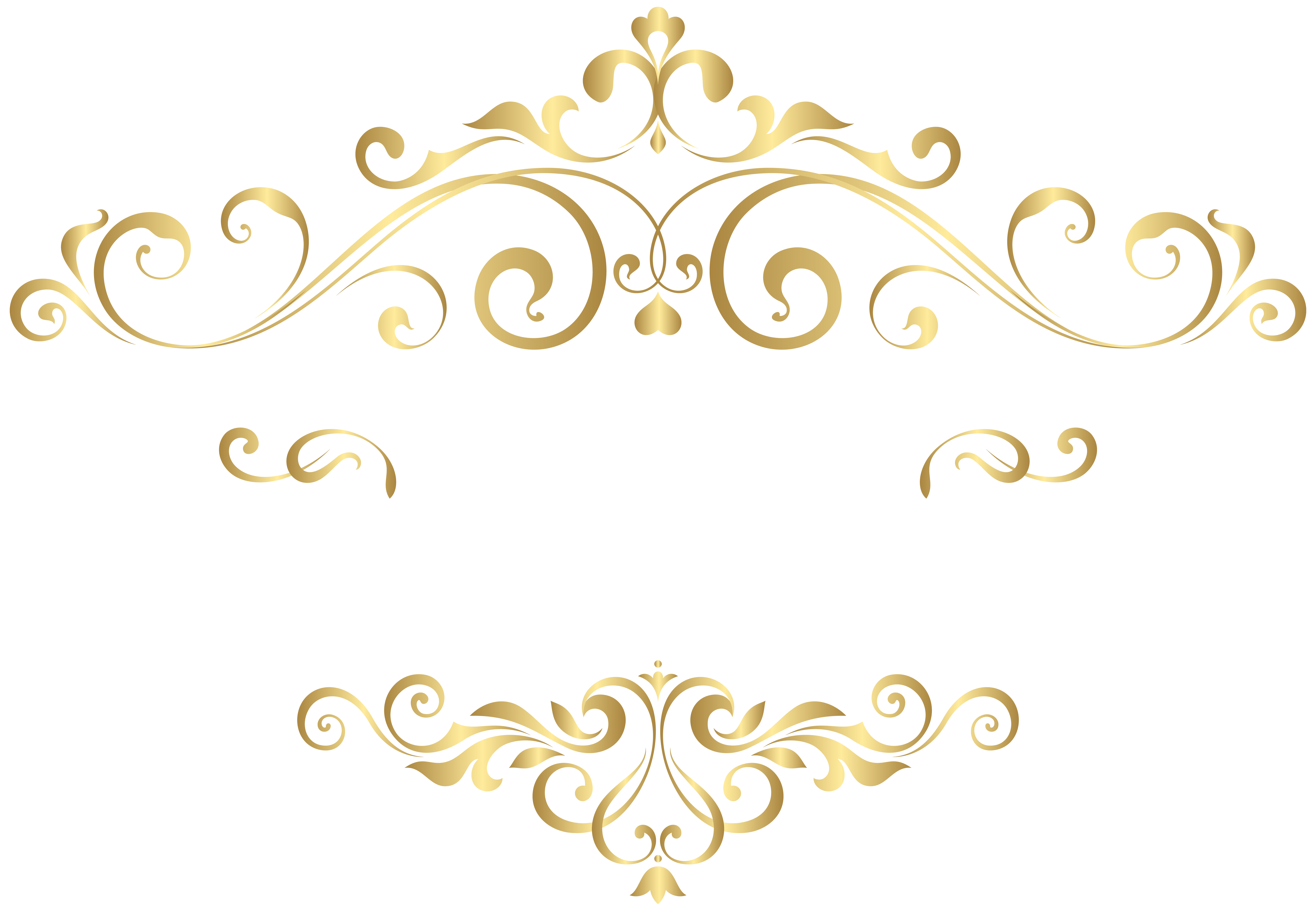 Clipart decorative elements black and white library Decorative Element PNG Clipart Image | Gallery Yopriceville - High ... black and white library