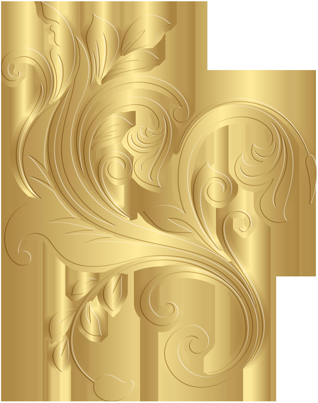 Clipart decorative elements clip art download Gold Decorative Element PNG Clip Art Image | Gallery Yopriceville ... clip art download