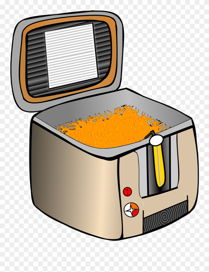 Clipart deep fryer vector library library 8 Reasons I Hate My Deep Fat Fryer - Deep Fryer Clipart (#1473140 ... vector library library