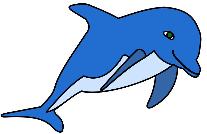 Clipart delfin png royalty free Free Clipart: Delphin | frankes png royalty free