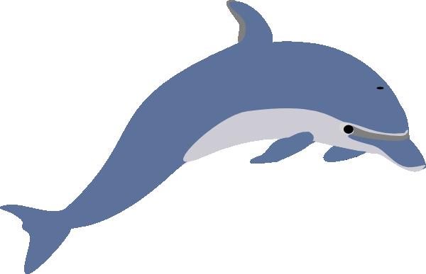 Clipart delfin clip royalty free stock Delfin Clip Art at Clker.com - vector clip art online, royalty free ... clip royalty free stock