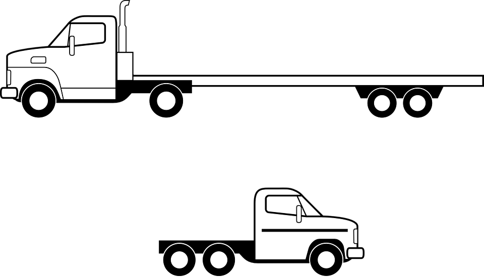 Clipart delivery car image library Delivery Clipart semi truck - Free Clipart on Dumielauxepices.net image library