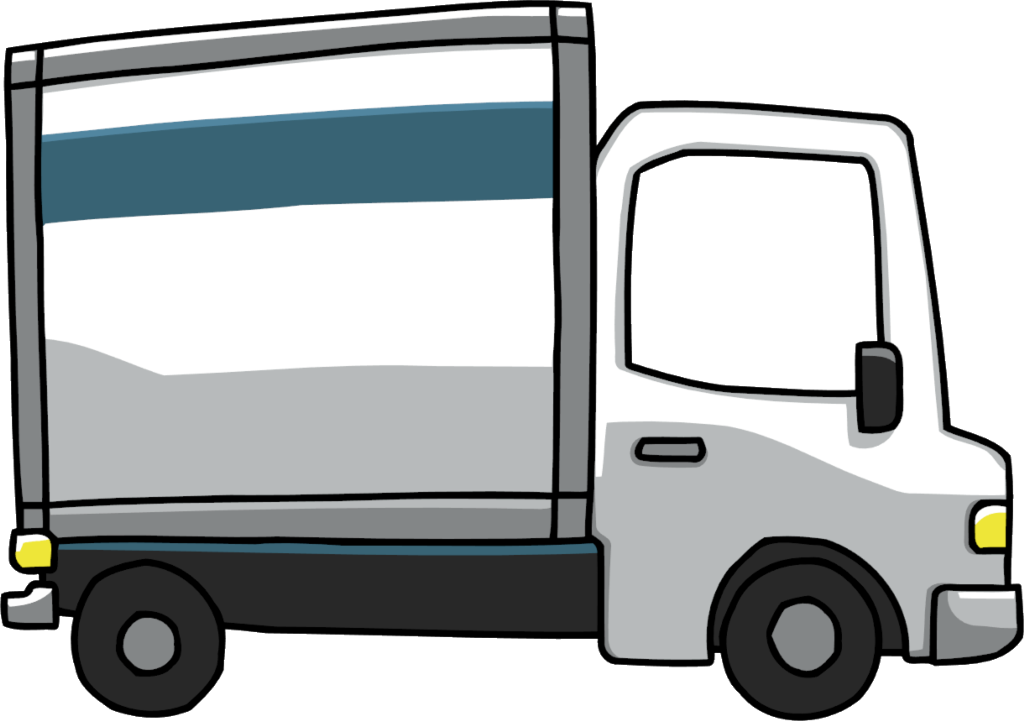 collection of truck. Delivery car clipart