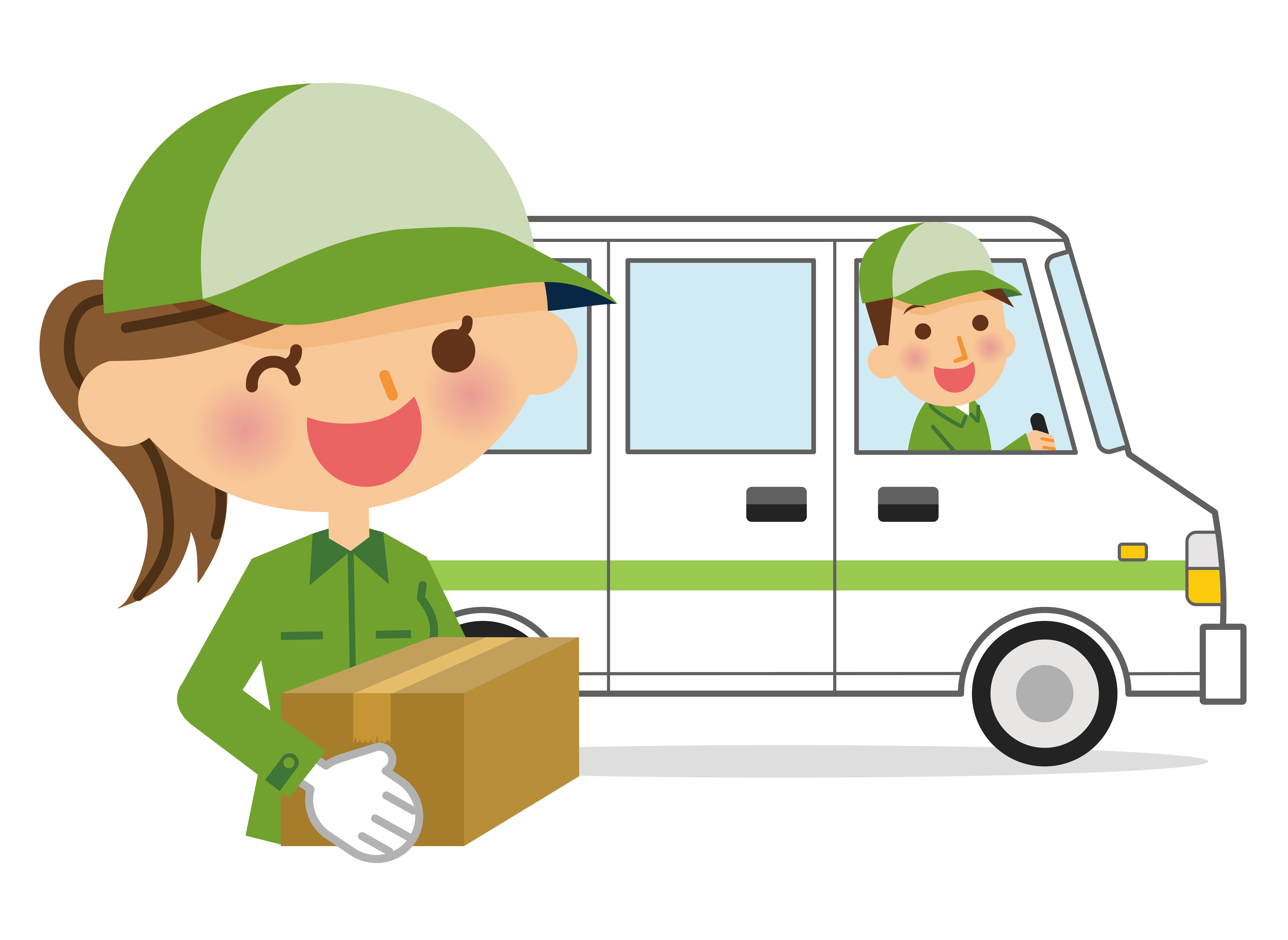 Clipart delivery driver svg library stock Best Practice Managing Delivery Drivers - Five Questions to Ask svg library stock