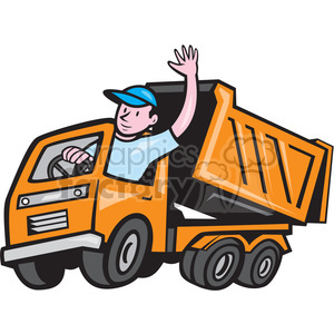 Clipart delivery driver picture black and white truck driver clipart - Royalty-Free Images | Graphics Factory picture black and white