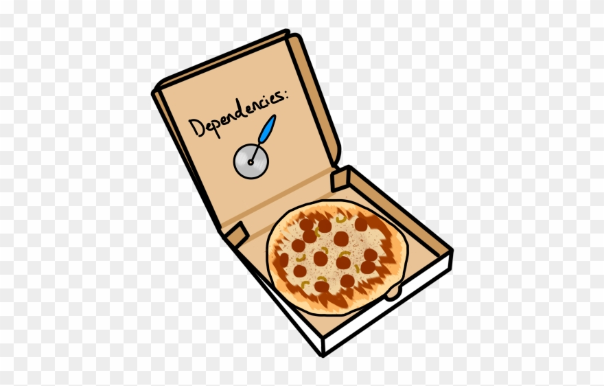 Dependency clipart svg transparent stock A Pizza Pie In A Box With A Pizza Slicer Dependency - Pizza Clipart ... svg transparent stock