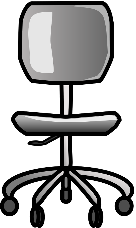 Office chair clipart image picture transparent stock Free Clipart: Office Chair | ozerkavak picture transparent stock