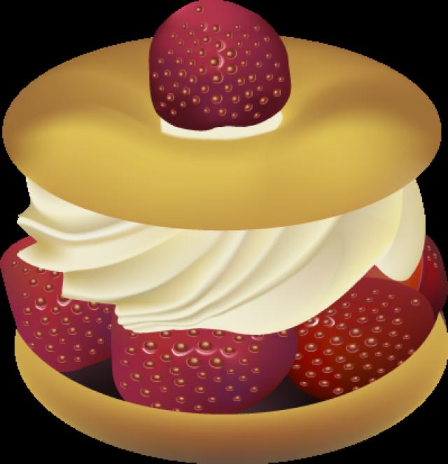 Clipart dessert gratuit free library Clipart strawberry shortcake dessert - ClipartFox free library