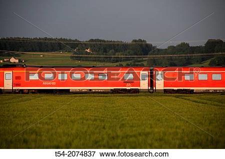 Clipart deutsche bahn. Picture of regional train