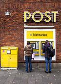 Clipart deutsche post graphic stock Stock Photography of