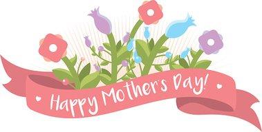 Clipart dia de las madres