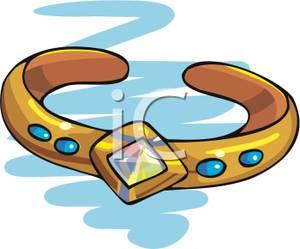 Diamond bracelet clipart
