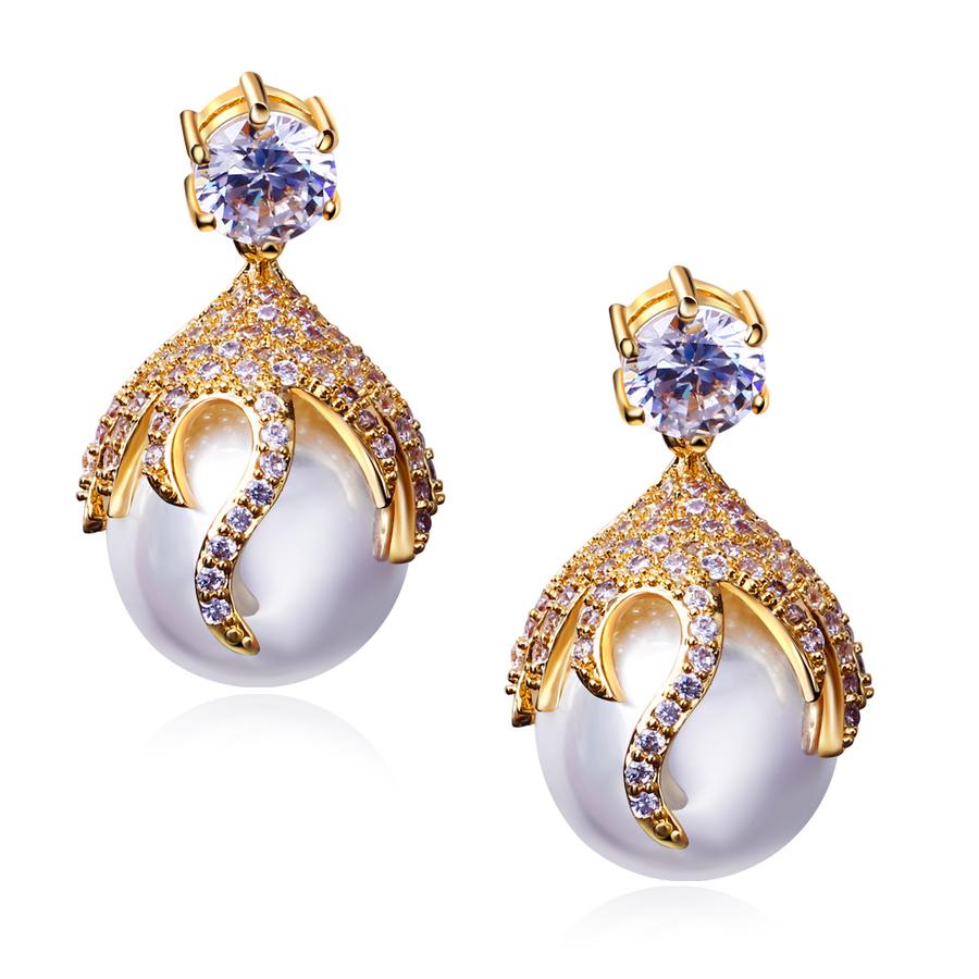 Clipart diamond earrings with price jpg freeuse download Download pearl earrings with prices clipart Earring Jewellery Cubic ... jpg freeuse download