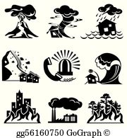 Disaster clipart images graphic royalty free Natural Disaster Clip Art - Royalty Free - GoGraph graphic royalty free