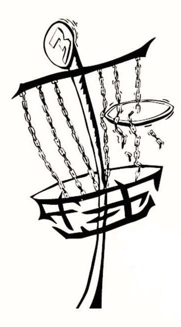 Disc golf basket black and white clipart vector freeuse Disc Golf Basket Clip Art | Disc Golf | Disc golf, Disc golf basket ... vector freeuse