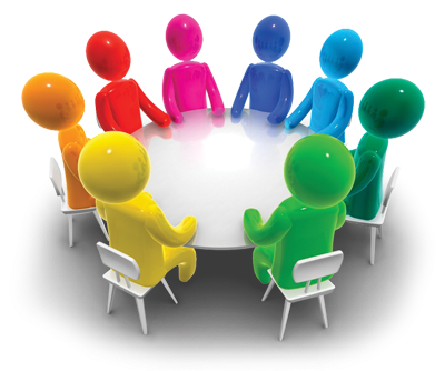 Clipart discuss clipart black and white Free Business Discussion Cliparts, Download Free Clip Art, Free Clip ... clipart black and white