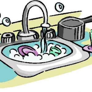 Clipart dishes in sink picture freeuse Dirty Dishes Clipart   Free download best Dirty Dishes Clipart on ... picture freeuse