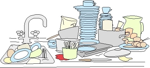 Clipart dishes in sink clipart library Dirty Sink Cliparts - Cliparts Zone clipart library