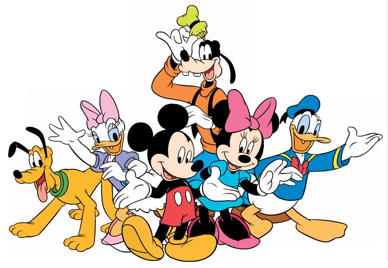 Disney happy halloween clipart. Mickey pals gang wave