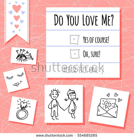 Clipart do what you love to do graphic freeuse stock Do You Love Me Stock Images, Royalty-Free Images & Vectors ... graphic freeuse stock