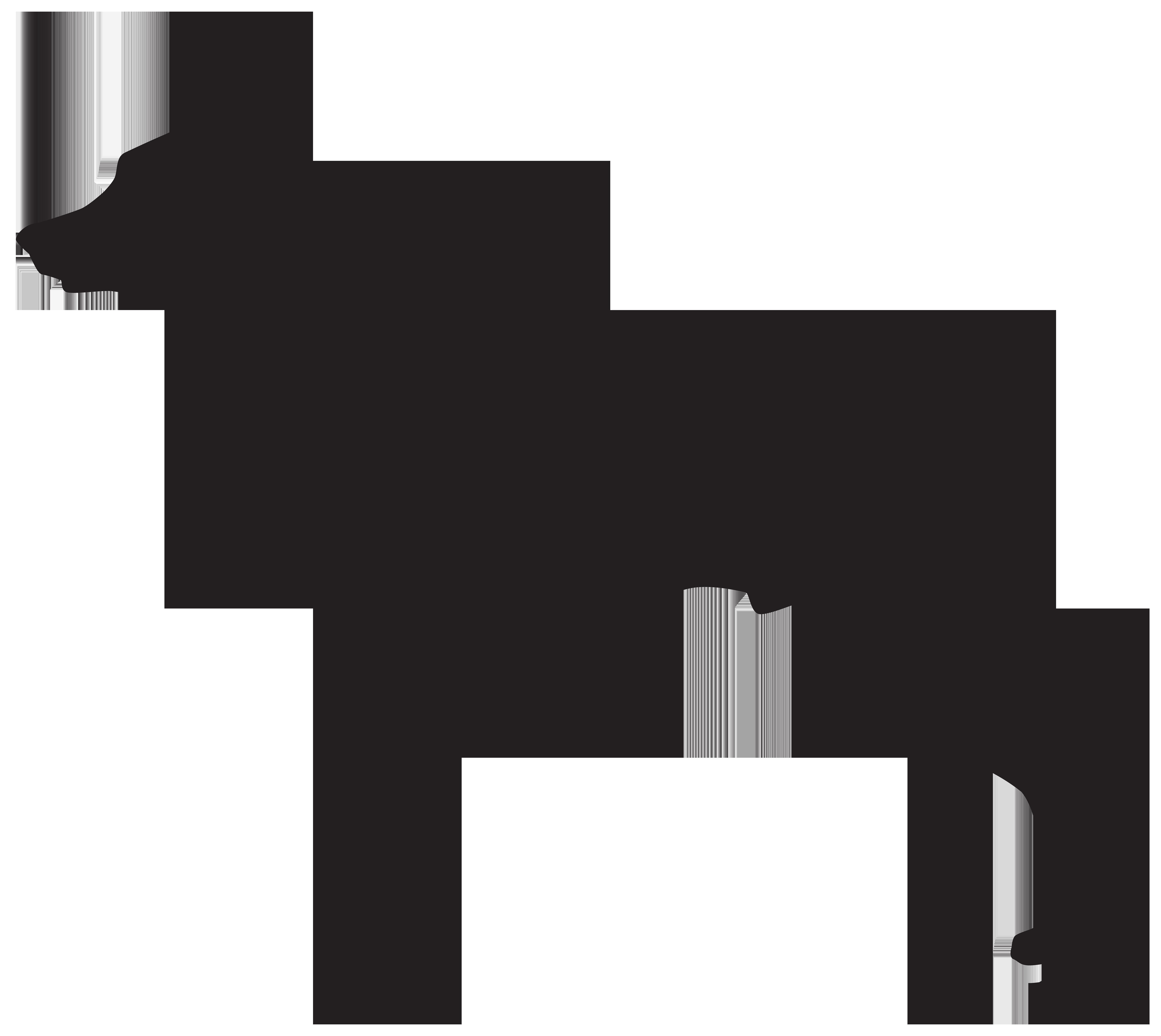 Clipart doberman jpg stock Doberman Dog Silhouette PNG Transparent Clip Art Image | Gallery ... jpg stock