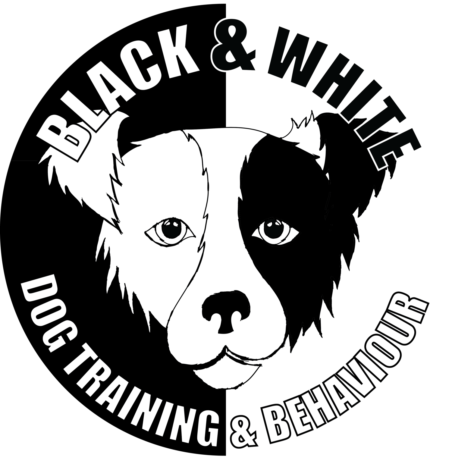 Dog agility clipart clip art freeuse library Black and White Dog Training and Behaviour clip art freeuse library