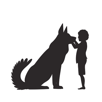 Clipart dog bigand small picture royalty free Big And Small Dogs Clip Art, Vector Images & Illustrations - iStock picture royalty free