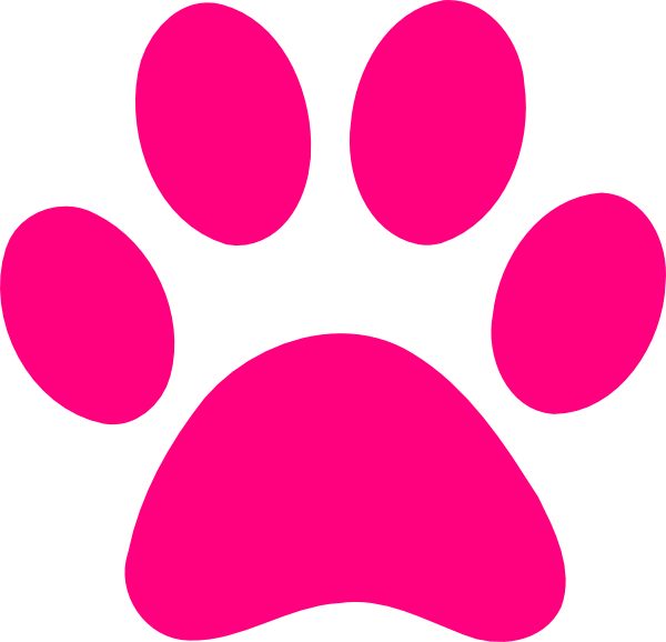 Dog running clipart no background image free library pink print | Dog Paw Print Transparent Background Paw print pink ... image free library