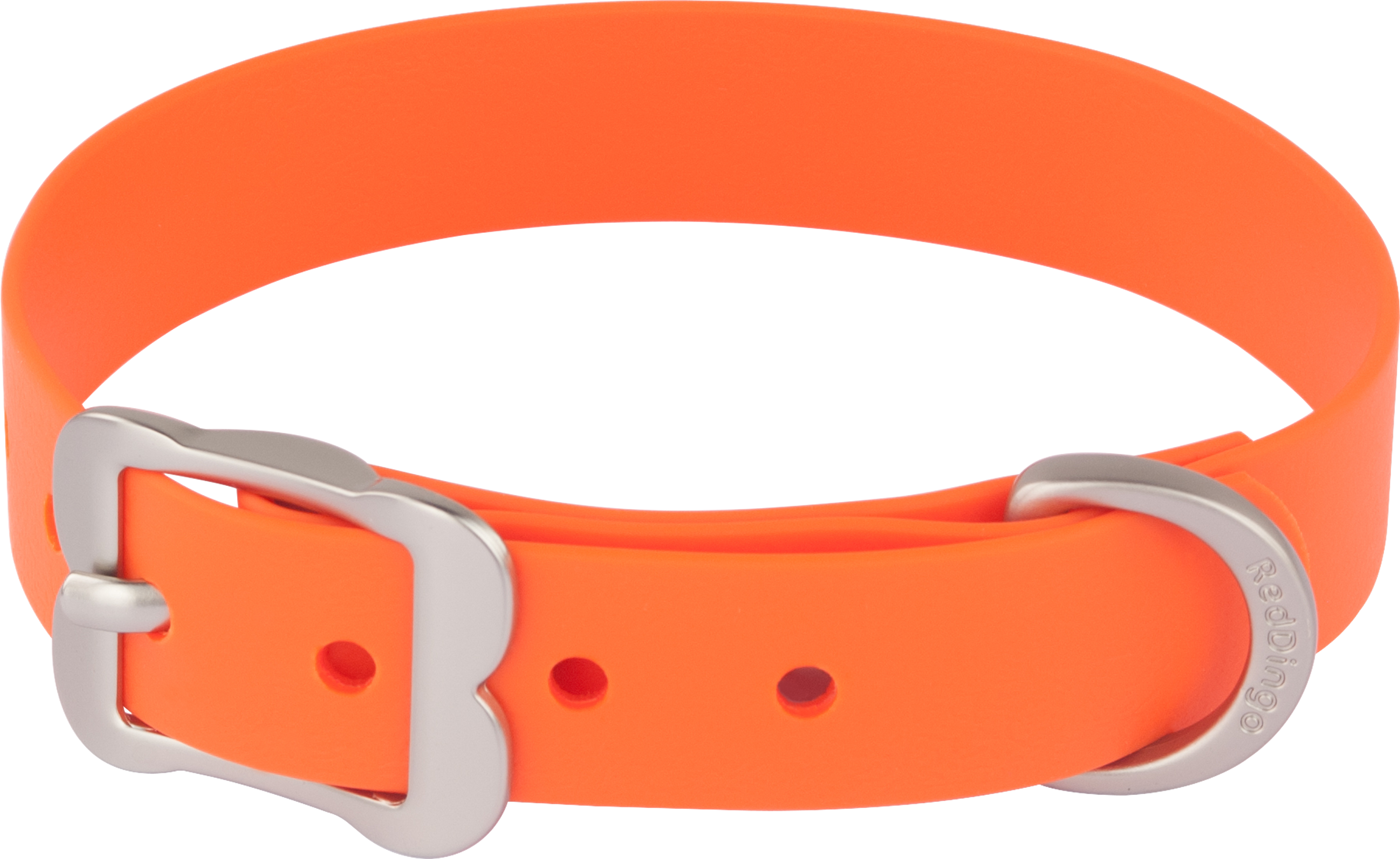Clipart dog collar graphic transparent download Red Dingo Dog Collar Vivid PVC Orange DC-VI-OR graphic transparent download