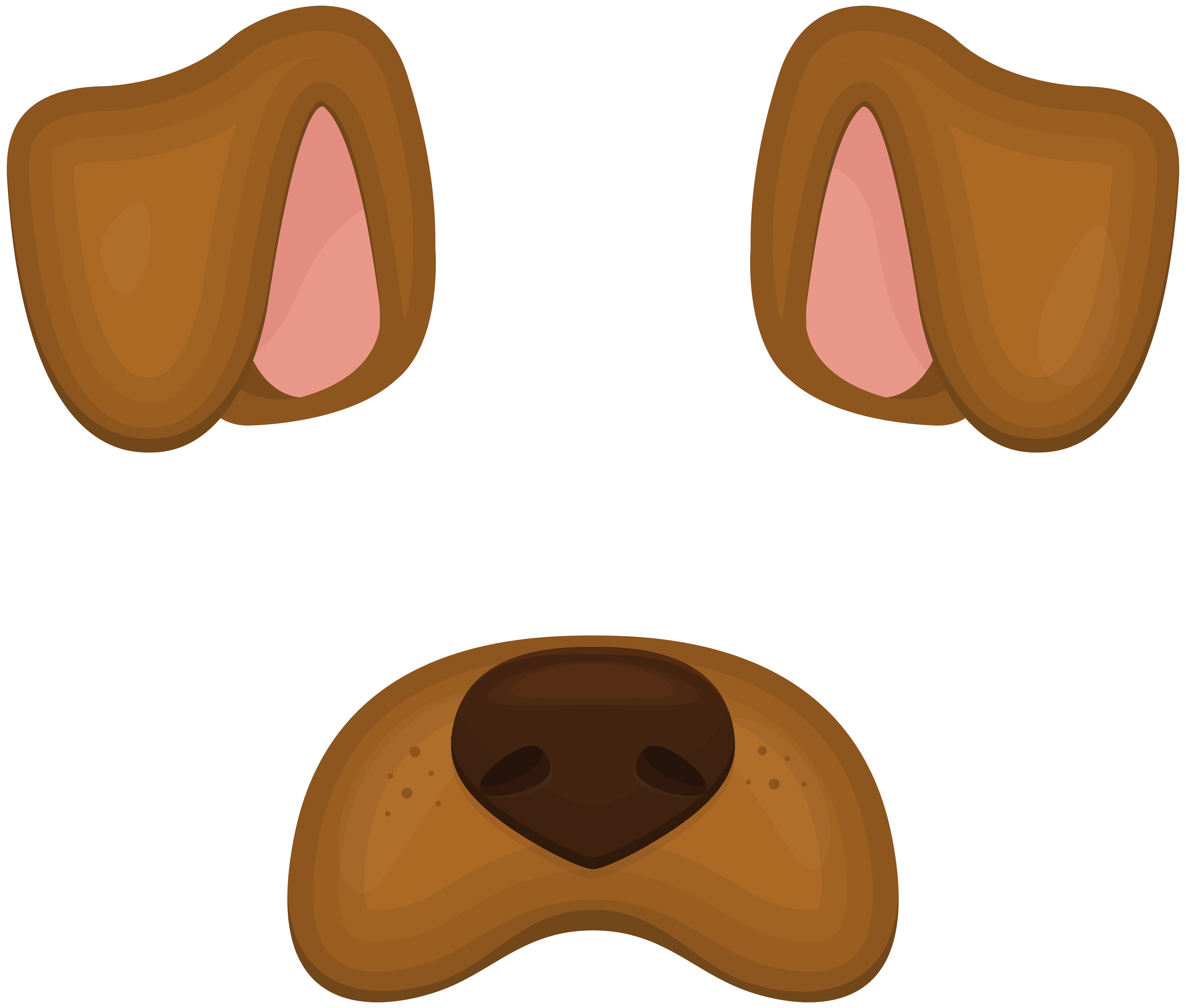 Happy dog face clipart png royalty free download Dog Face Mask PNG Clip Art Image | Gallery Yopriceville - High ... png royalty free download