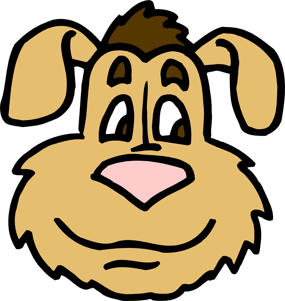 Happy dog face clipart png free Dog Face Clipart at GetDrawings.com | Free for personal use Dog Face ... png free