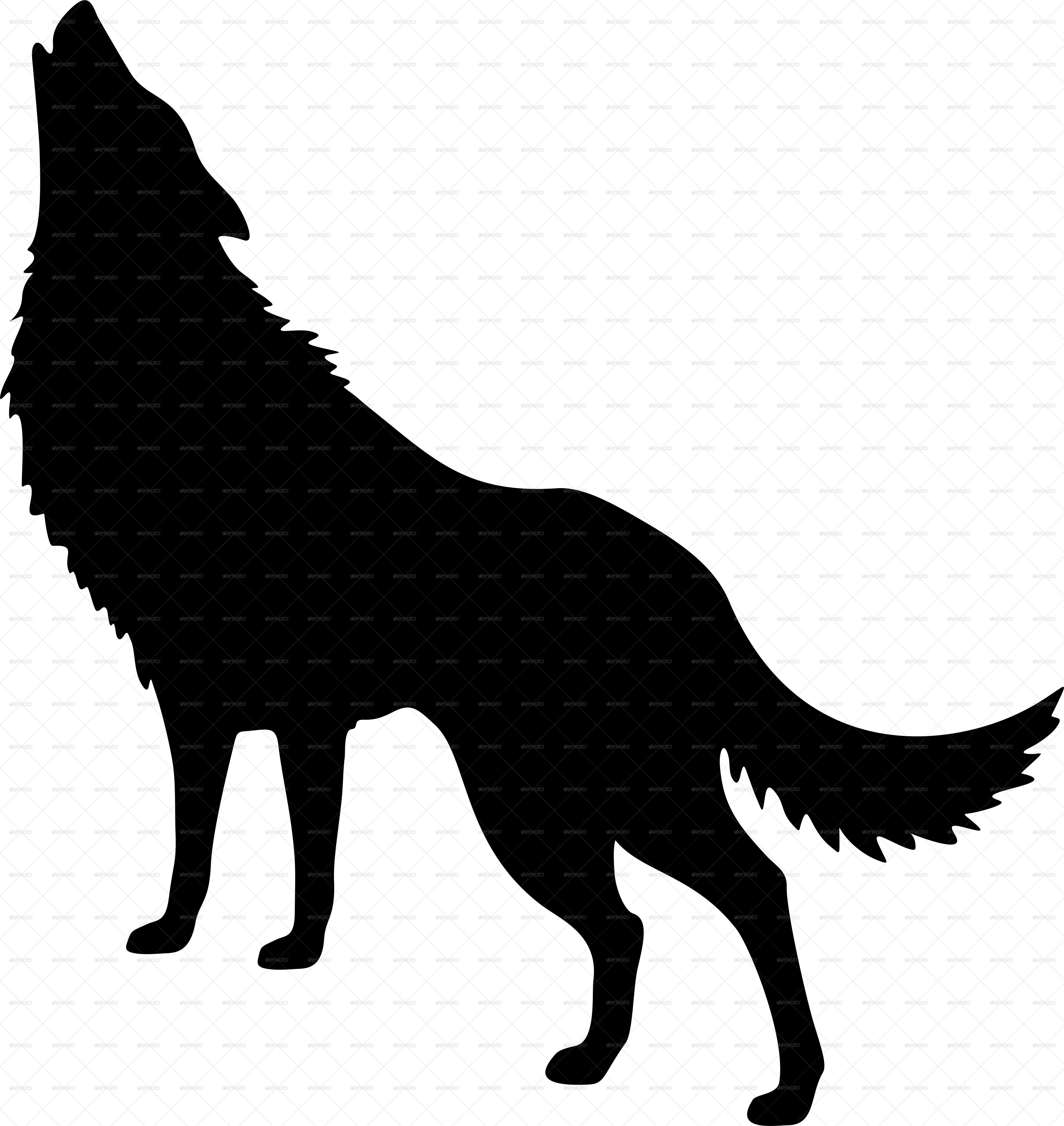 Clipart dog howling at moon clipart free Wolf Howling At Moon Silhouette at GetDrawings.com | Free for ... clipart free