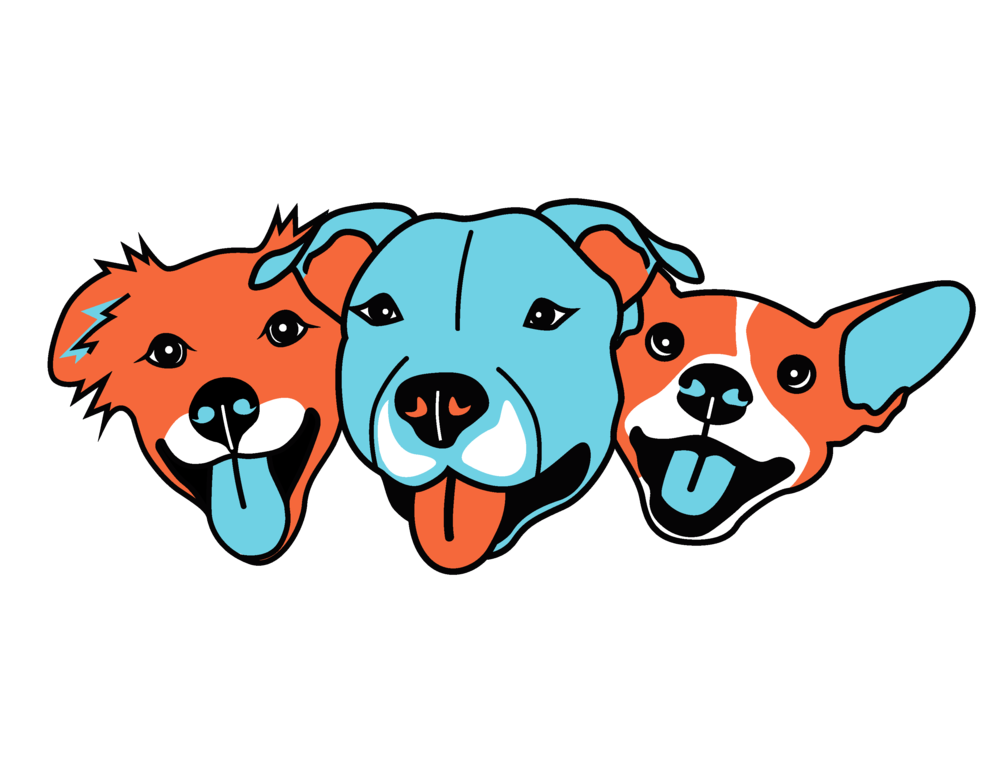 Dog leash clipart vector transparent download Dog Squad LA vector transparent download