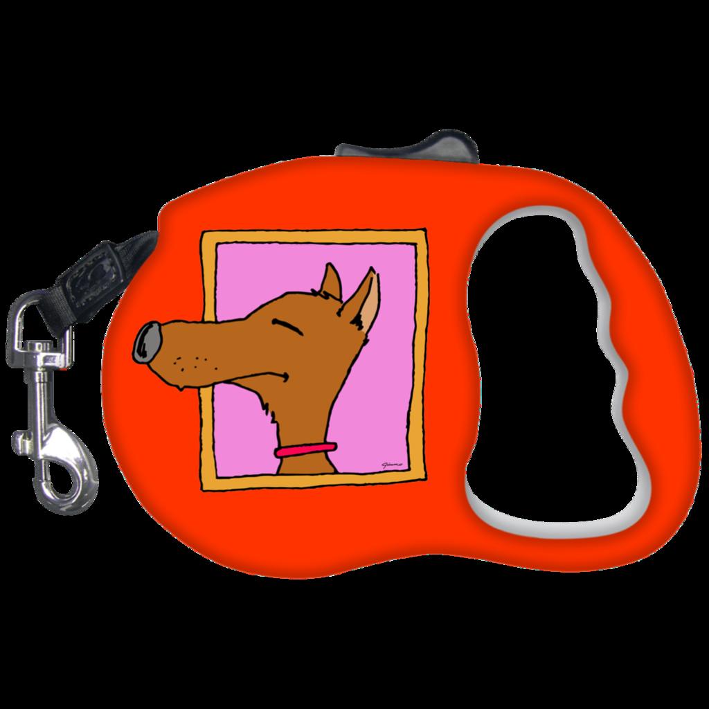 Dog leash clipart clip freeuse stock Le Dog Retractable Dog Leash – Jimmo Designs clip freeuse stock