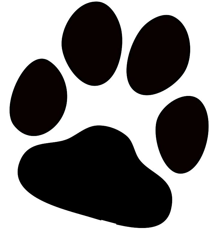 Dog footprint clipart picture freeuse library printable paws - Bingo.raindanceirrigation.co picture freeuse library