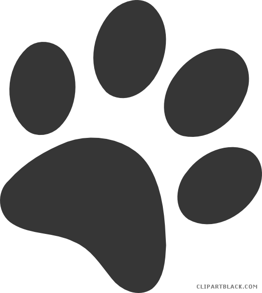 Dog paw print clipart jpg free library Dog Paw Prints Clipart - ClipartBlack.com jpg free library
