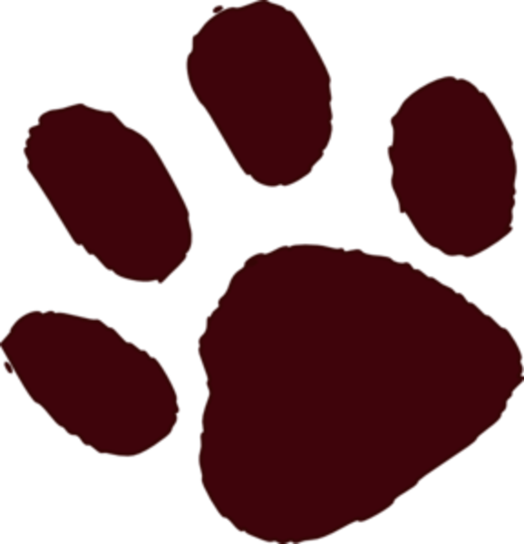 Dog paw print clipart picture free Brown Paw Print Md | Free Images at Clker.com - vector clip art ... picture free