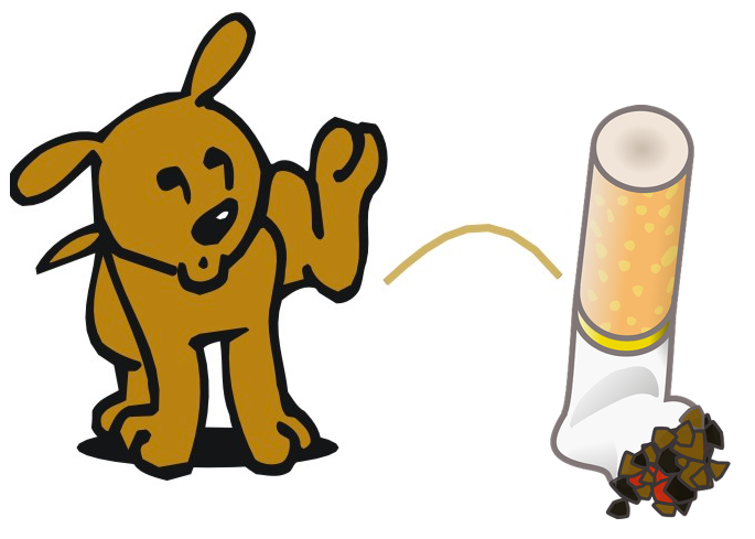 Peeing dog clipart banner royalty free download Dog-Peeing - Tackling Tobacco - Nunkuwarrin Yunti of South Australia banner royalty free download