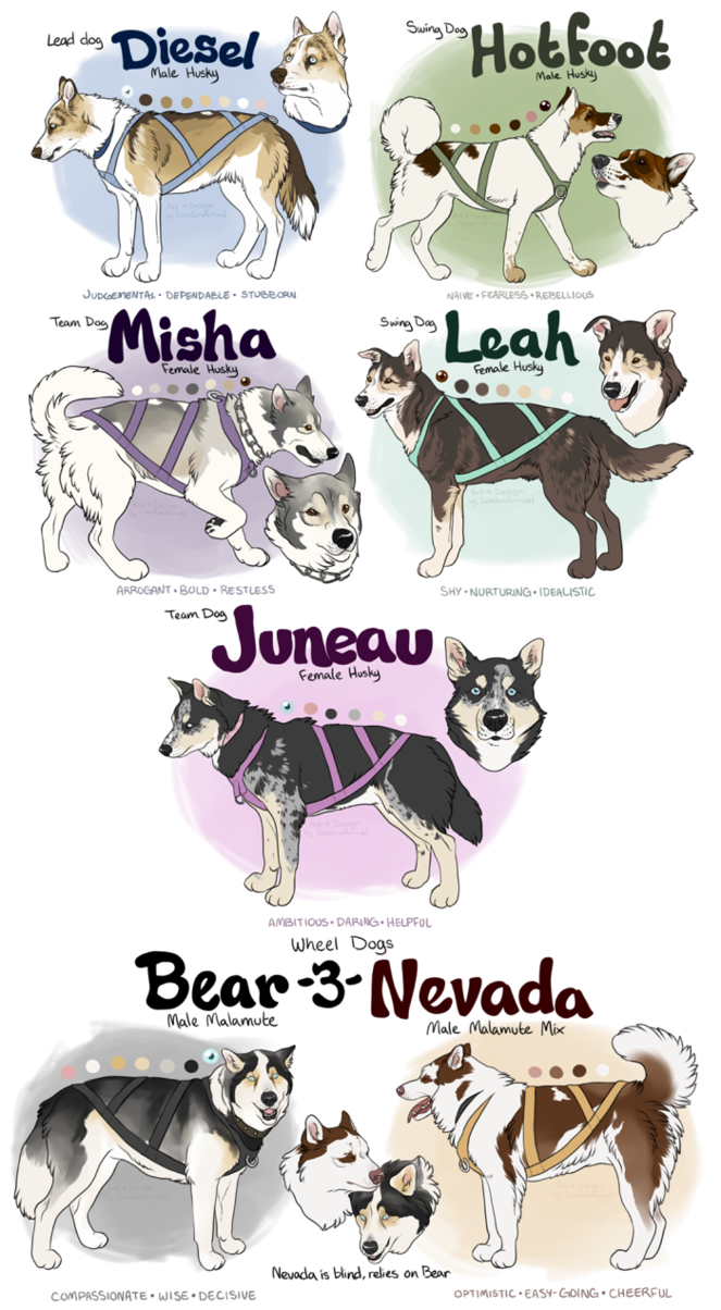 Free dog sled clipart picture free library Sled Dog Adopts - Closed by deadonarrival on DeviantArt picture free library