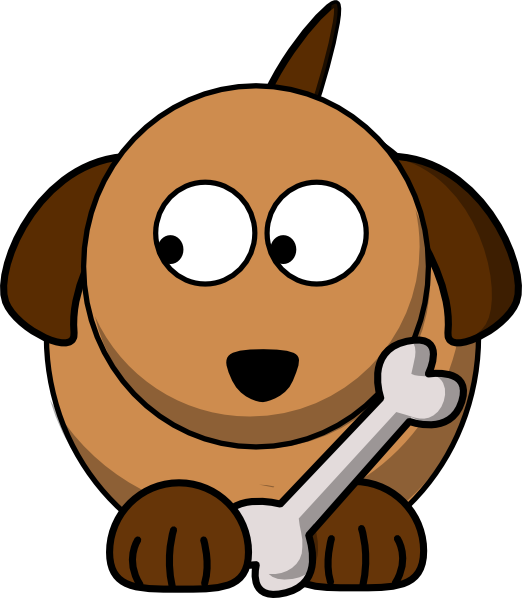 Corn dog clipart library Dog Looking Left 02 Clip Art at Clker.com - vector clip art online ... library