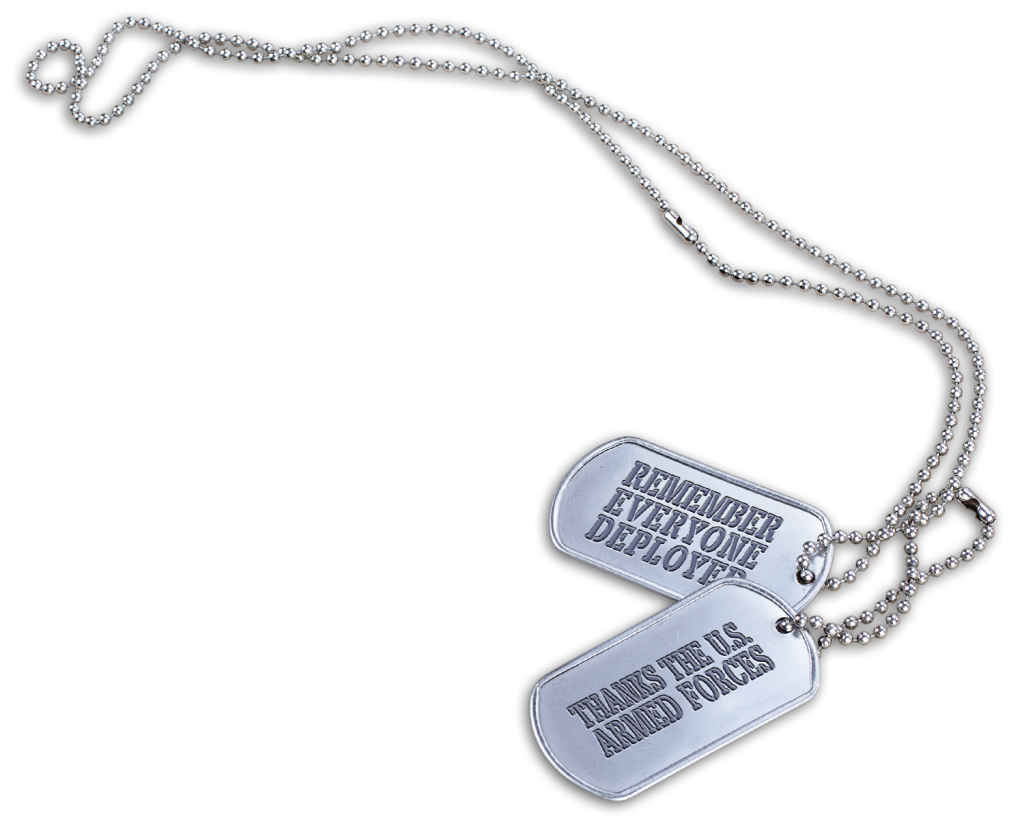 Clipart dog tags military jpg black and white stock RED. Remember Everyone Deployed. Thanks the U.S. Armed Forces. jpg black and white stock