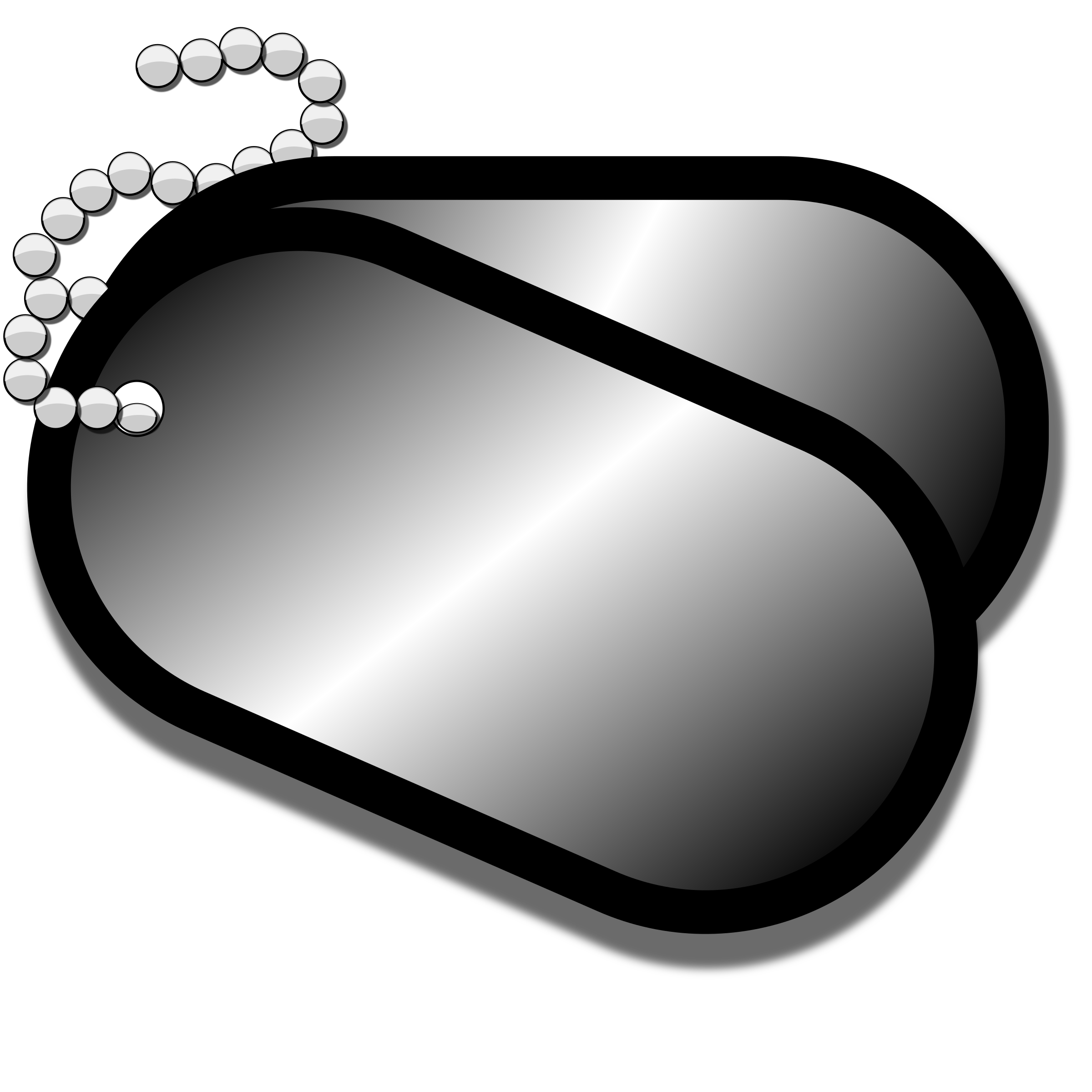 Clipart - Dog Tags free