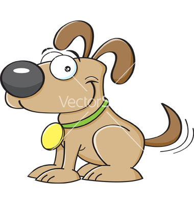 Clipart dog tail banner library library Cartoon dog wagging his tail vector by KenBenner - Image #6249554 ... banner library library