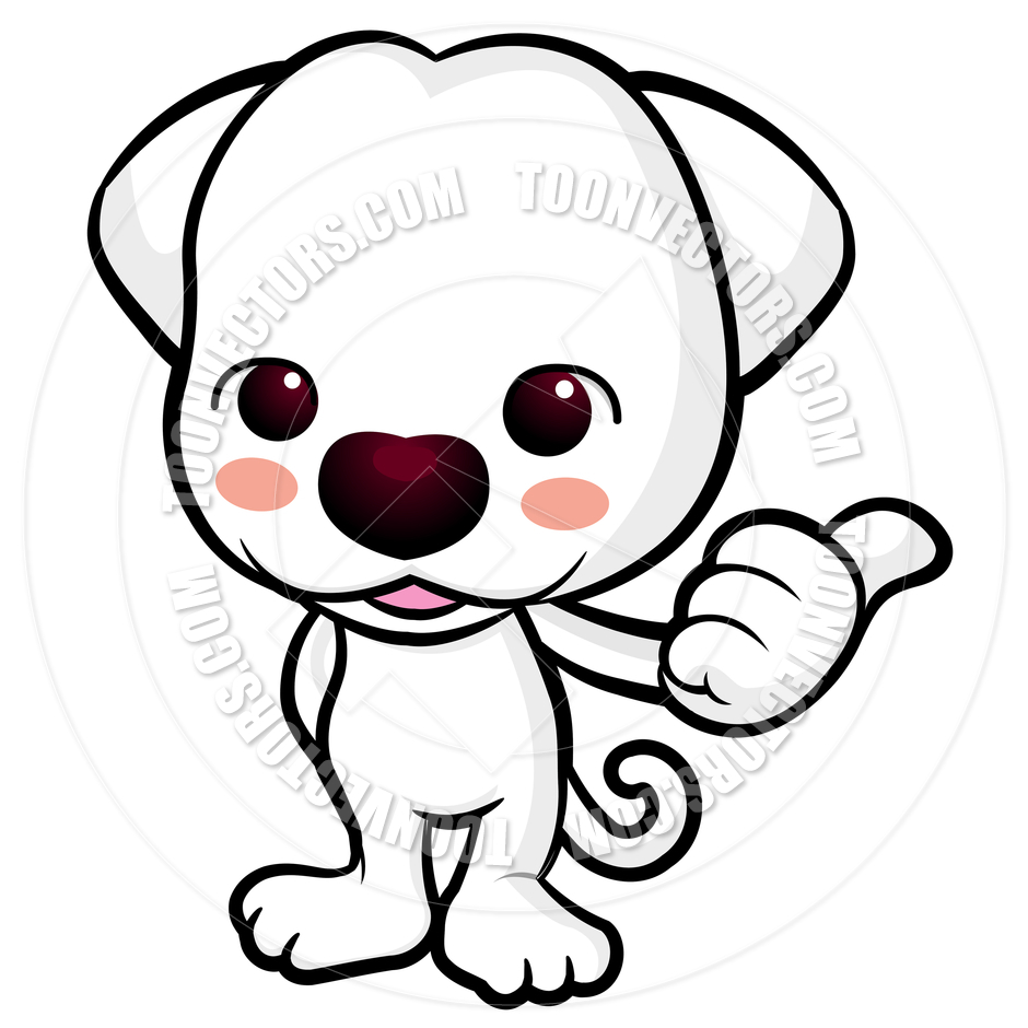 Clipart dog thumbs up. Clipartfest cartoon puppy