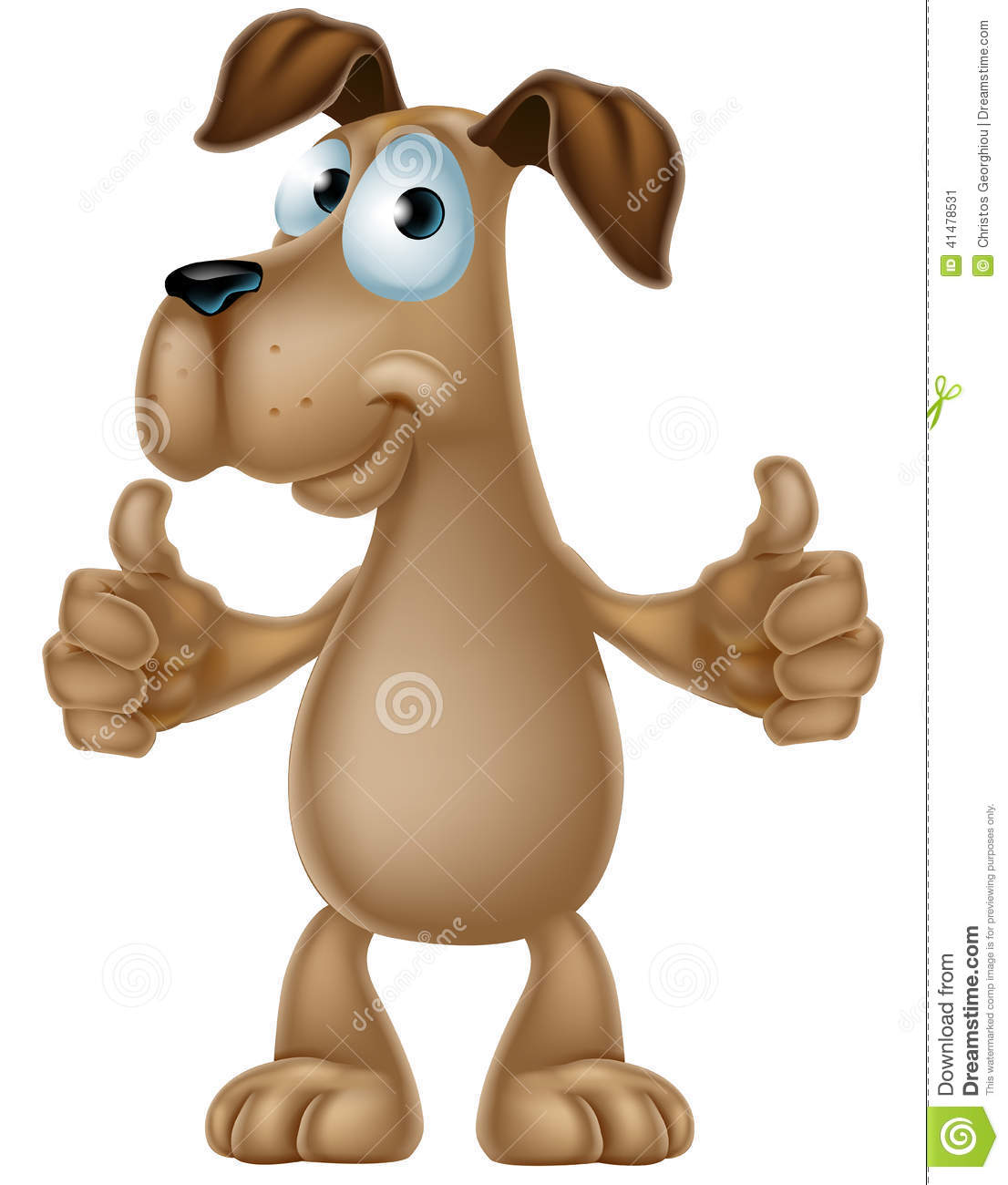 Clipart dog thumbs up. Clipartfest cartoon giving