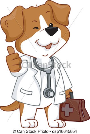 Clipart dog thumbs up. Illustrations and clip art