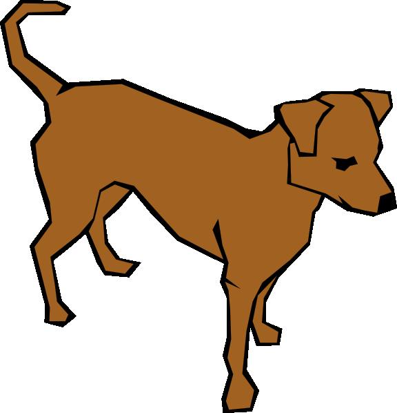 Clipart dog to color banner library download Alert Dog In Color Clip Art at Clker.com - vector clip art online ... banner library download