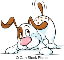 Wag illustrations and clip. Clipart dog wagging tail